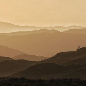Ederline Estate views, Argyll, Scotland
